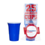 American Cups Blue Cups - Blauw - 473ml (25st)
