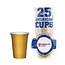 American Cups Gold Cups - Goud - 473ml (25st)